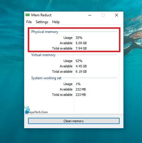 افزایش حافظه رم در ویندوز