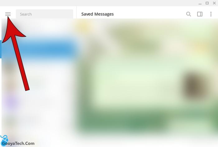 رمز عبور روی تلگرام ویندوز