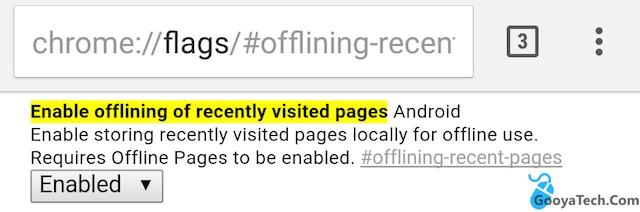 حالت آفلاین صفحات وب در مرورگر کروم