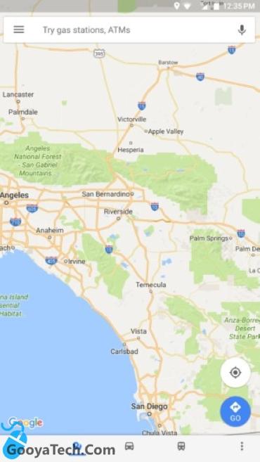 نقشه های گوگل مپ