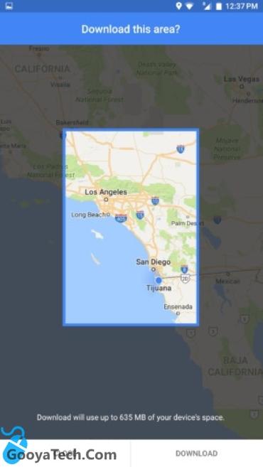 دانلود نقشه های گوگل مپ