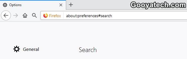 غیر فعال کردن قابلیت پیشنهاد گوگل در فایرفاکس