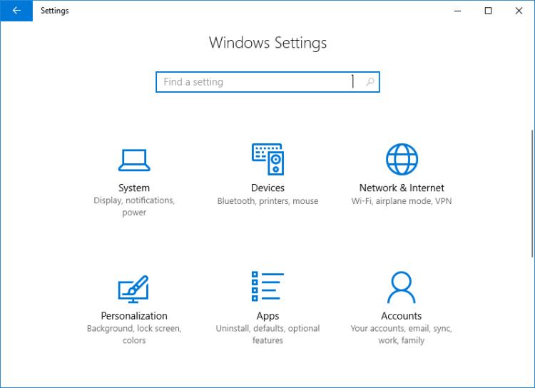 دسترسی به بخش Data usage برای مشاهده حجم اینترنت مصرف شده در ویندوز 10