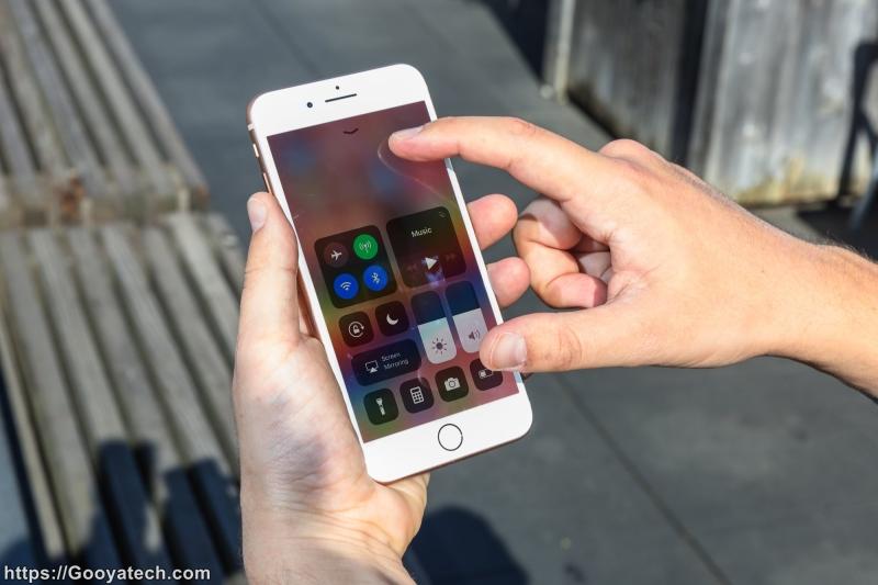 خاموش کردن چرخش خودکار صفحه نمایش آیفون در iOS 11