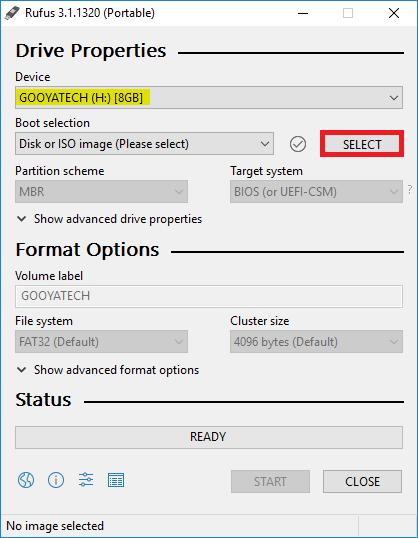 بوت کردن فلش مموری برای نصب ویندوز