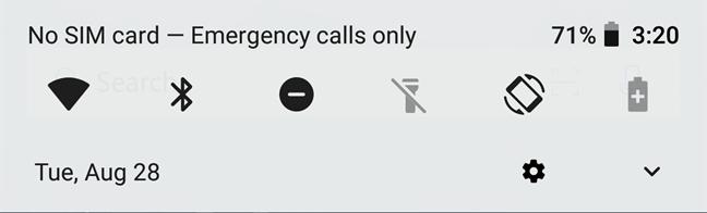 دسترسی به گزینه ویرایش تنظیمات سریع در اندروید