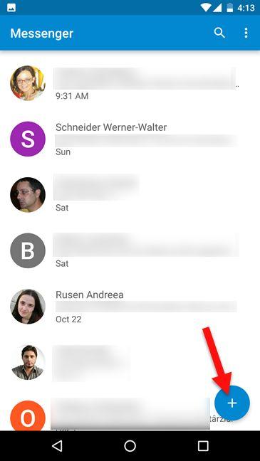 اشتراک گذاری موقعیت مکانی از طریق پیامک در اندروید
