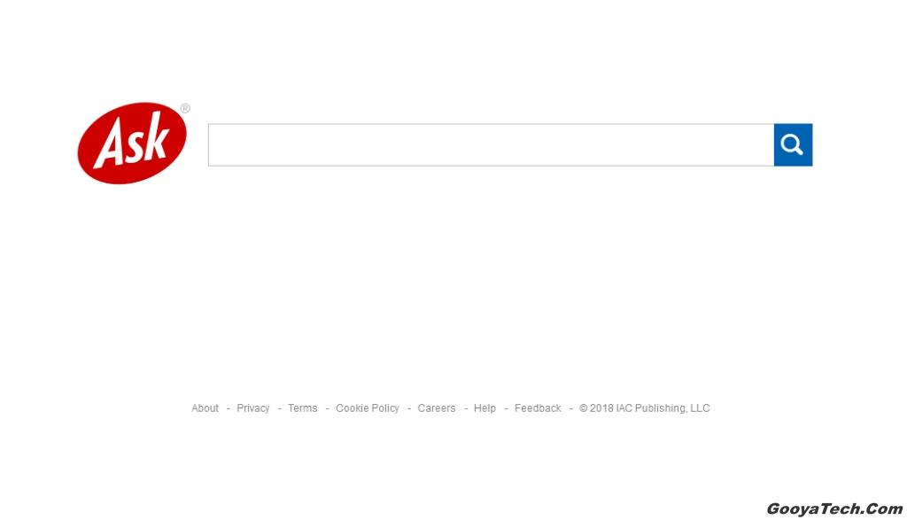 معرفی موتور جستجوی اسک (Ask)