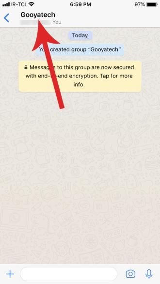 تبدیل گروه واتس اپ به کانال واتس اپ