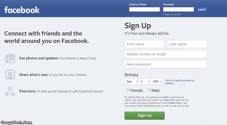 معرفی شبکهی اجتماعی فیسبوک (Facebook)
