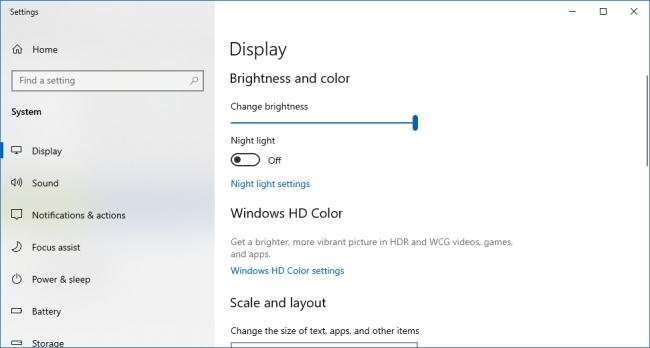 """استفاده از دستور """"desk.cpl"""" برای دسترسی به بخش Display"""